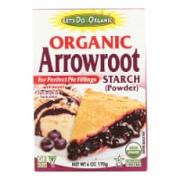 Let's Do Organic - Organic Arrowroot Starch - Case of 6 - 6 oz. - Case of 6 - 6 OZ each