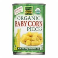 Native Forest Organic Cut Baby - Corn - Case of 6 - 14 oz. - Case of 6 - 14 OZ each
