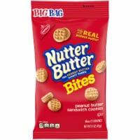 Kraft Nabisco Nutter Butter Bites Sandwich Cookies - Peanut Butter, 3 Ounce -- 12 per case