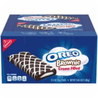 Oreo Creme Filled Individually Wrapped Brownie, 3 Ounce -- 72 per case. - 6-12-3 OUNCE