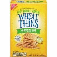 Wheat Thins Reduced Fat Cracker, 8.5 Ounce -- 6 per case. - 5