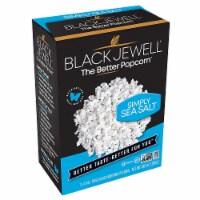 Black Jewell Simply Sea Salt Popcorn, 10.5 Oz (Pack of 6) - 6