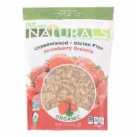 New England Naturals Organic Unsweetened Gluten-Free Strawberry Granola, 11oz (Pack of 6) - 6