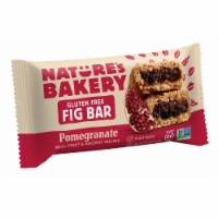 Nature's Bakery Gluten Free Fig Bar - Pomegranite - Case of 12 - 2 oz.