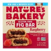 Nature's Bakery Gluten Free Fig Bar - Raspberry - Case of 6 - 2 oz.