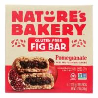 Nature's Bakery Gluten Free Fig Bar - Pomegranite - Case of 6 - 2 oz. - Case of 6 - 6/2 OZ each