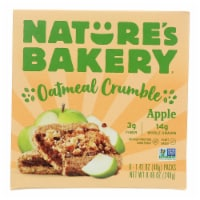 Nature's Bakery - Oatmeal Crumble Apple - Case of 6 - 8.46 OZ