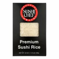 Sushi Chef Premium Sushi Rice - Case of 6 - 20 oz.