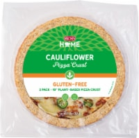 "Rich's Home 10"" Cauliflower Pizza Crust, Gluten-Free, Vegan, Pack of 6 - 6 crusts"