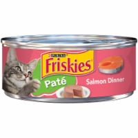 Friskies Pate Salmon Dinner Wet Cat Food