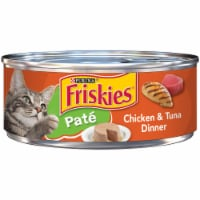 Friskies Pate Ocean Whitefish & Tuna Dinner Wet Cat Food