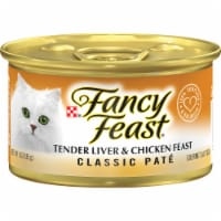 Fancy Feast Classic Pate Tender Liver & Chicken Wet Cat Food