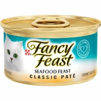 Fancy Feast Classic Pate Seafood Wet Cat Food