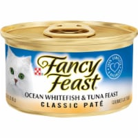 Fancy Feast Classic Pate Ocean Whitefish & Tuna Feast Wet Cat Food