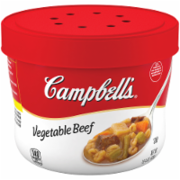 Campbell's Vegetable Beef Microwavable Bowl 8 Count