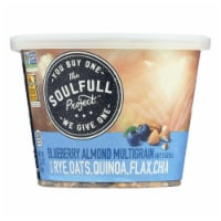The Soulfull Project Cereal Blueberry Almond  - Case of 6 - 2.26 OZ - Case of 6 - 2.26 OZ each
