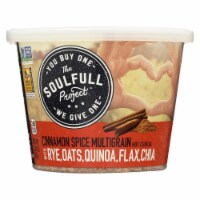 The Soulfull Project Cinnamon Spice Hot Cereal w Rye Oats Quinoa Flax n Chia-6Case-2.01oz - Case of 6 - 2.01 OZ each