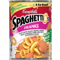 Campbell's SpaghettiOs Pasta with Sliced Franks - 12 ct / 15.6 oz