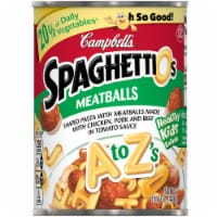 Campbell's A to Z's SpaghettiOs Pasta with Meatballs - 12 ct / 15.6 oz