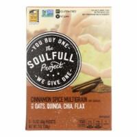 The Soulfull Pro - Hot Cereal Cinnamon Spce Gluten Free - Case of 6 - 7 OZ - 7 OZ