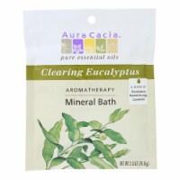 Aura Cacia - Aromatherapy Mineral Bath Eucalyptus Harvest - 2.5 oz - Case of 6 - Case of 6 - 2.5 OZ each