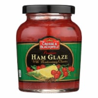 Crosse and Blackwell Meat Sauce - Ham Glaze - Case of 6 - 10 oz.