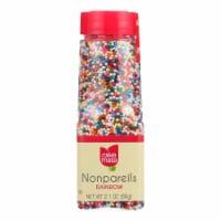 Cake Mate - Decorating Decors - Nonpareils - Rainbow - 2.1 oz - Case of 6