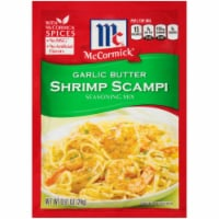McCormick Garlic Butter Shrimp Scampi Seasoning Mix 12 Count