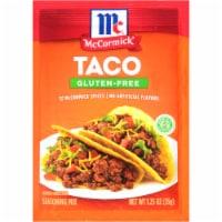 McCormick Gluten-Free Taco Seasoning Mix 12 Count - 15 oz