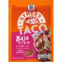 McCormick Street Taco Baja Fish Seasoning Mix 12 Count