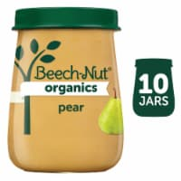Beech-Nut Organics Pear Stage 1 Baby Food 10 Count