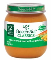 Beech-Nut Classics Stage 2 Macaroni & Beef with Vegetables Baby Food Case