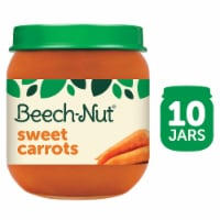 Beech-Nut Classics Stage 2 Sweet Carrots Baby Food Case 10 Count