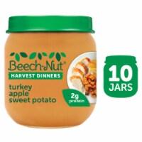 Beech-Nut Harvest Dinners Turkey Apple Sweet Potato Baby Food - 10 ct / 4 oz