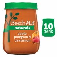 Beech-Nut Naturals Apple Pumpkin & Cinnamon Stage 2 Baby Food 10 Count
