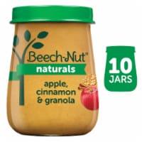 Beech-Nut Naturals Apple Cinnamon & Granola Stage 2 Baby Food - 10 ct / 4 oz