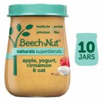 Beech-Nut Naturals Superblends Apple Yogurt Cinnamon & Oat Baby Food - 10 ct / 4 oz