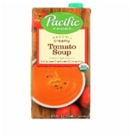 Pacific Foods Organic Creamy Tomato Soup, 32 oz [Pack of 12] - 12