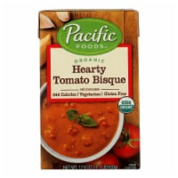 Pacific Foods Bisque Hearty Tomato Organic  - Case of 6 - 17.6 OZ - Case of 6 - 17.6 OZ each