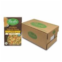 Pacific Natural Foods Chicken Noodle Soup - Case of 12 - 17 OZ - 17 OZ