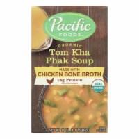 Pacific Natural Foods - Soup Tom Kha Phak - Case of 12 - 17 OZ - 17 OZ
