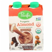 Pacific Natural Foods Almond Chocolate - Organic - Case of 6 - 8 Fl oz. - Case of 6 - 4/8 FZ each