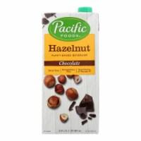Pacific Foods Hazelnut Beverage, Chocolate  - Case of 6 - 32 FZ - Case of 6 - 32 FZ each