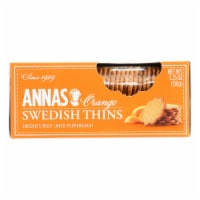 Annas Original Orange Swedish Thins Cookies