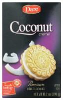 Dare Coconut Premnium Crème Filled cookies Peanut Free 10.2 OZ (Pack of 12)