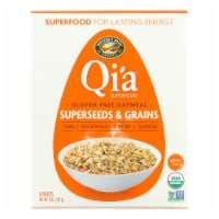 Nature's Path Organic Qi'A Superfood Hot Oatmeal - Superseeds and Grains - Case of 6 - 8 oz. - Case of 6 - 8 OZ each