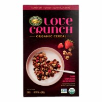 Nature's Path Cereal Organic - Love Crunch Dark Chocolate and Red Berries Case of 6 - 10 oz - 10 OZ
