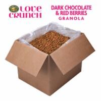 Love Crunch Organic Dark Chocolate & Red Berries Granola 240oz Bulk Box - 1