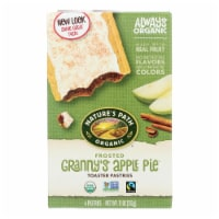 Nature's Path Organic Frosted Toaster Pastries - Granny's Apple Pie - Case of 12 - 11 oz. - Case of 12 - 11 OZ each