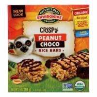 Envirokidz - Crispy Rice Bars - Peanut Choco - Case of 6 - 6 oz. - 6 OZ